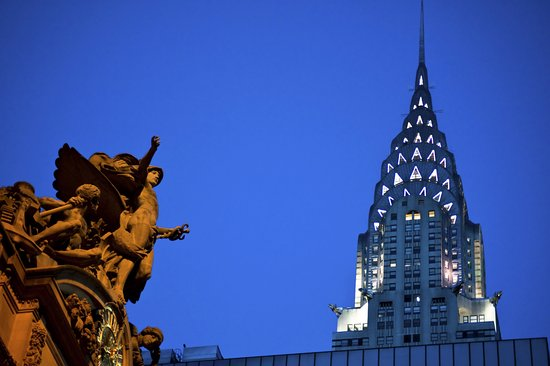New York City, NY: Grand Central & Chrysler Building