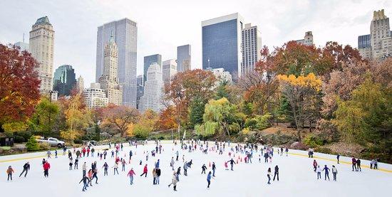 New York City, NY: Central Park skating