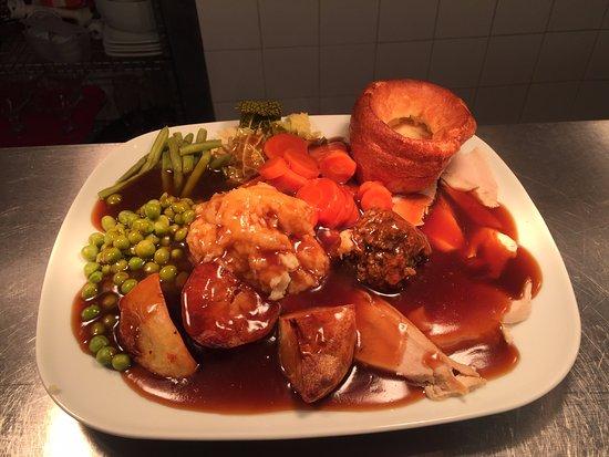 Studley, UK: Our Homemade Sunday Roast