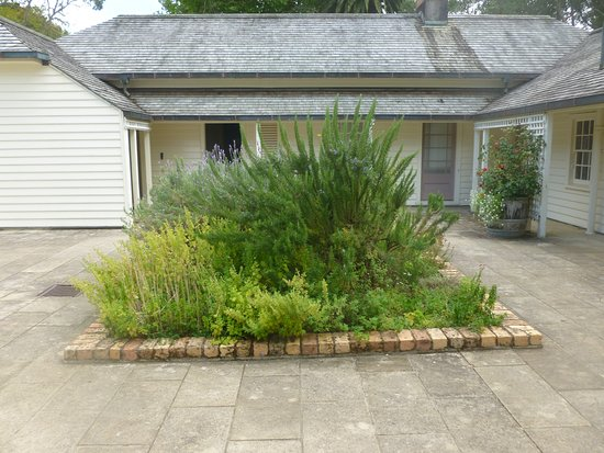 North Island, Yeni Zelanda: Herb garden