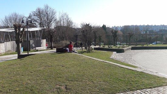 Woluwe-Saint-Lambert, بلجيكا: Vue du Parc