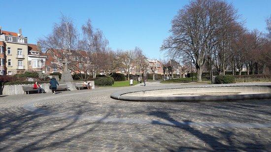 Woluwe-Saint-Lambert, Belgium: Entrée principale du Parc