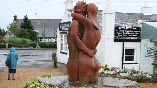 Lockerbie, UK: Gretna Green, the Famous Amvil Marriage Room