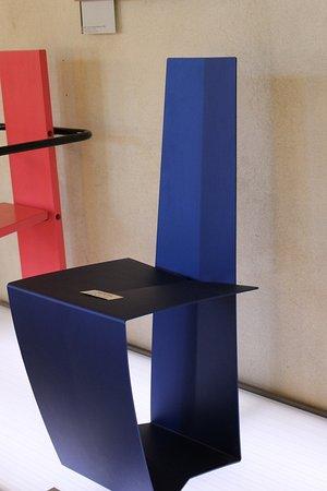 Designmuseum Danmark: Blå stol