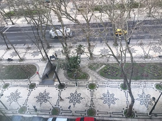 Fontecruz Lisboa Autograph Collection: View of the street from the room