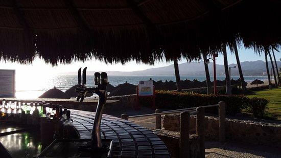large resort,endless bars and pools