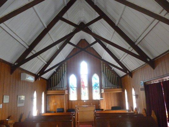 Kerikeri, Nouvelle-Zélande : Back of church