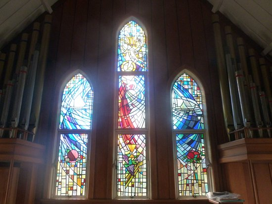 Kerikeri, Nueva Zelanda: Stained glass windows
