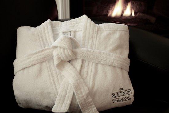 West Harwich, MA: Plush robe