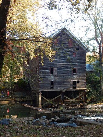 Childersburg, AL: A beautiful view of the mill- a great photography spot!