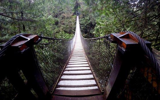 North Vancouver, Canada: Suspension Bridge