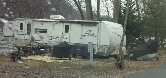 French Broad River Campground: Junky