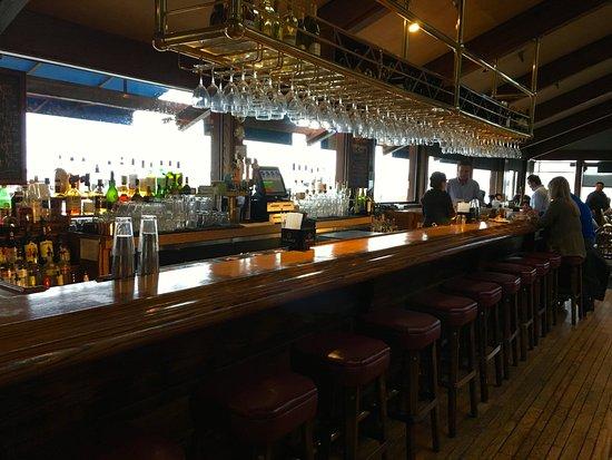Full Bar Picture Of Lucas Wharf Restaurant Bodega Bay