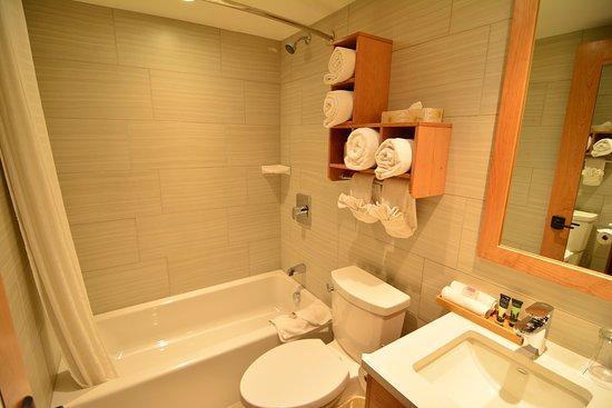 Banff Ptarmigan Inn: Bathroom