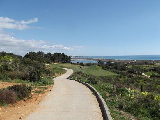 Onyria Palmares Golf: Hole 1 van de Praia baan