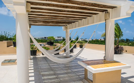 Riviera Maya Suites: ocean view roof top