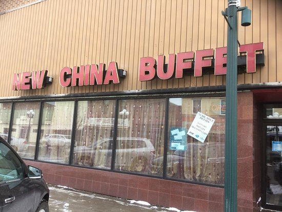 New China Buffet on Chestnut St. in Virginia, MN