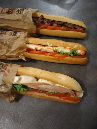 Herbignac, Francia: Sandwichs emporté à la maison