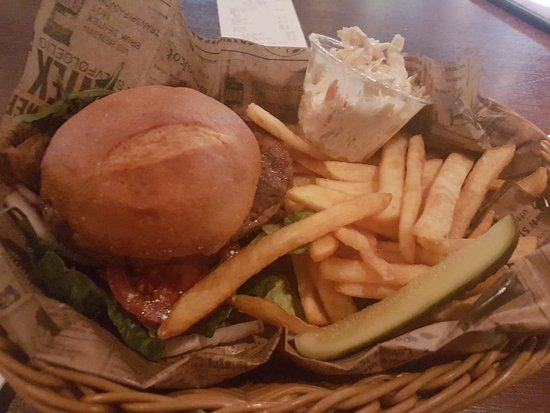 Stjordal, Norwegia: The burger