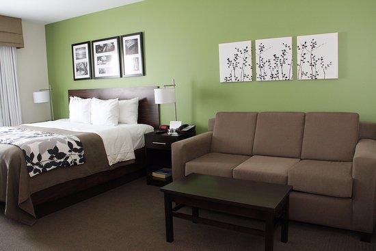 Haysville, KS: King Suite Room