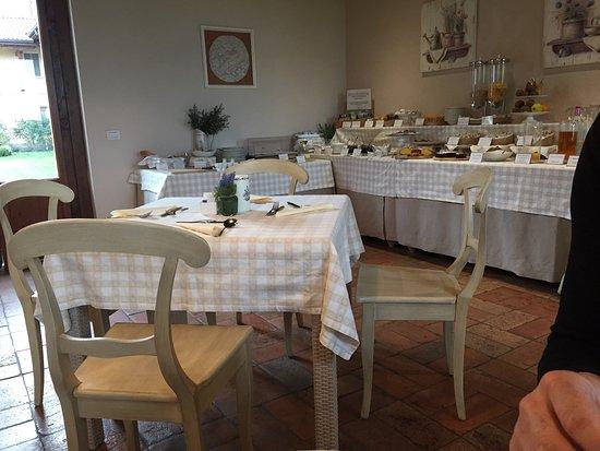 Fara Gera d'Adda, Italy: Sala colazione