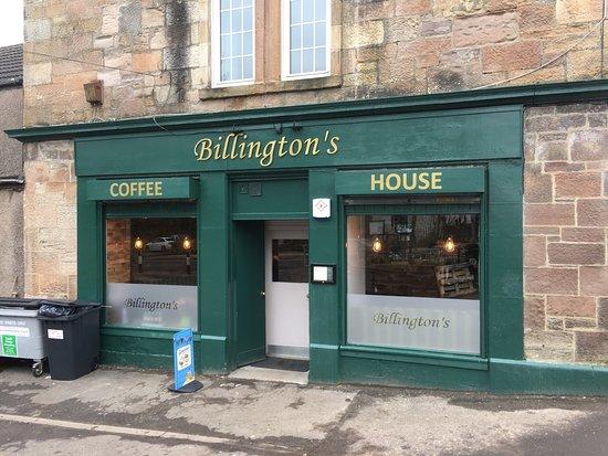 Milton of Campsie, UK: Billingtons Coffee Shop