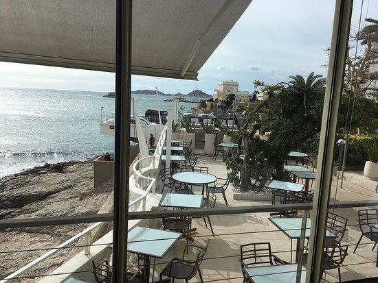 Le Petit Nice : terrasse