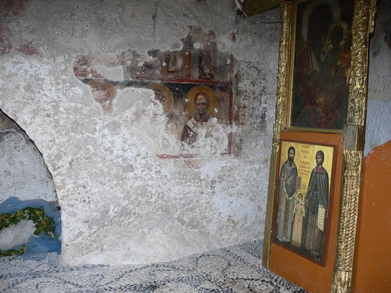 Kolimbia, Grecia: interno del monastero