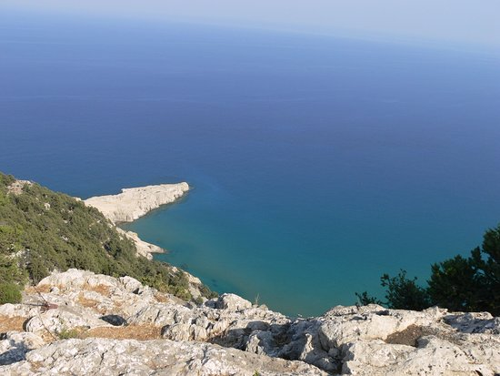 Kolimbia, Grecia: vista dall'alto