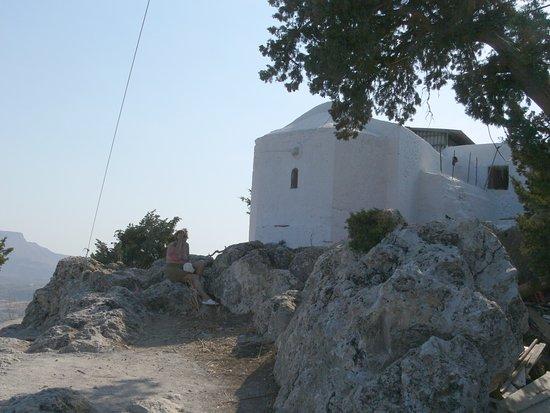 Kolimbia, Grecia: il monastero