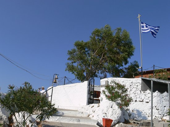 Kolimbia, Grecia: punto di arrivo