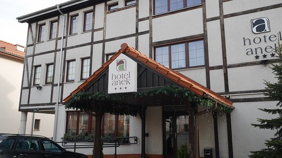 Hotel Anek: wejscie