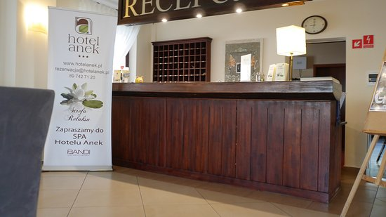 Hotel Anek: recepcja