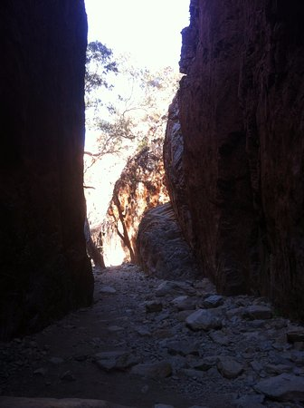 Territorio del Norte, Australia: Stanley Chasm NT at just before mid day