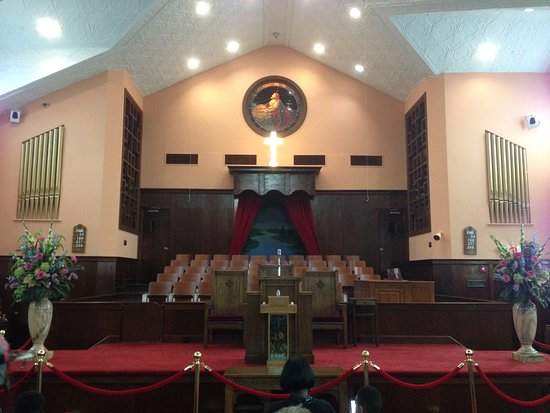 Photo of Tourist Attraction Ebenezer Baptist Church of Atlanta at 407 Auburn Ave, Atlanta, GA 30012, United States
