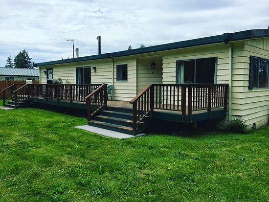 Port Hadlock, WA: Our house unit. Holds 5 beds. Perfect for family's on vacation or companys looking to feel at ho