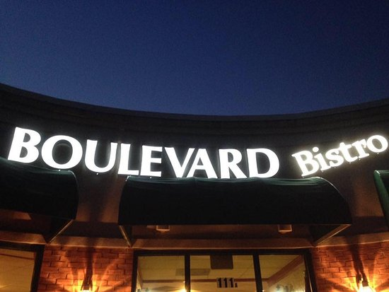 Boulevard Bistro: We get here at sunrise so you get fresh coffee and breakfast.