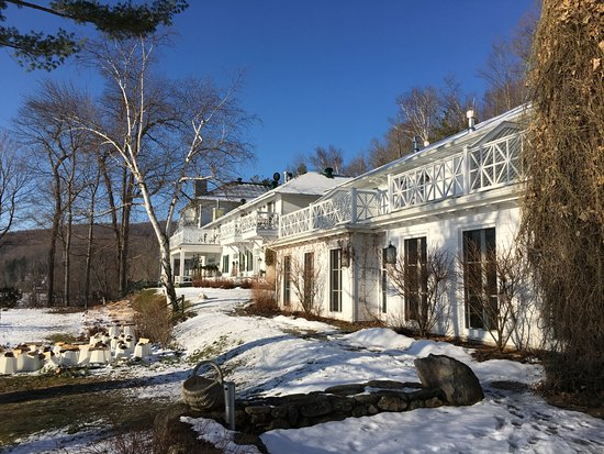 Manoir Hovey: Of course the day we leave Beautiful weather
