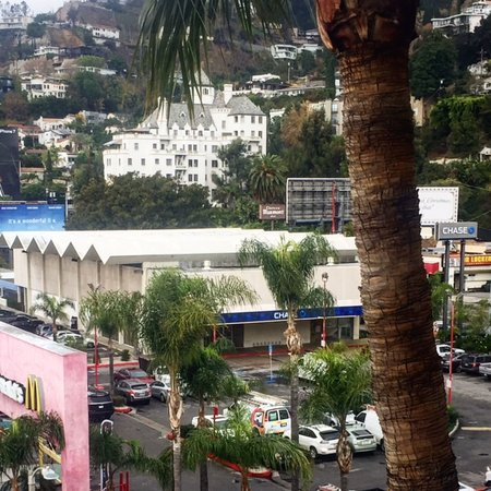 Beverly Hills, CA: This structure and parking lot on Sunset, may soon make way for a Frank Gehry designed complex.