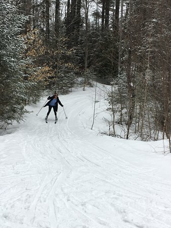 Bethel, ME: Small downhill victory for a beginner