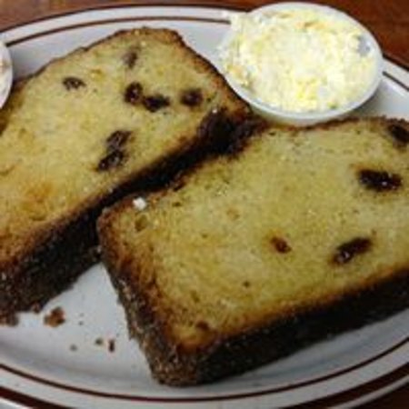 Sparta, WI: CInnamon Raisin Bread with Honey butter