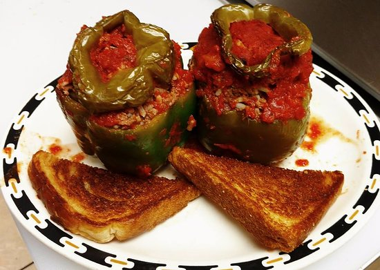Sparta, WI: Stuffed peppers