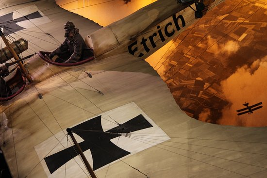 Omaka Aviation Heritage Centre: WWI action