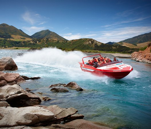 Canterbury Region, New Zealand: Hanmer Springs Jet Boating