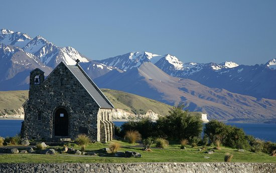 Mackenzie District, New Zealand: Church of the Good Shephar