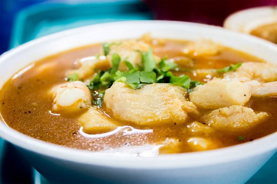 Nogales, AZ: Fish and Shrimp Soup