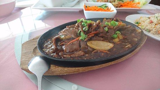 O'Halloran Hill, Australia: Mongolian beef