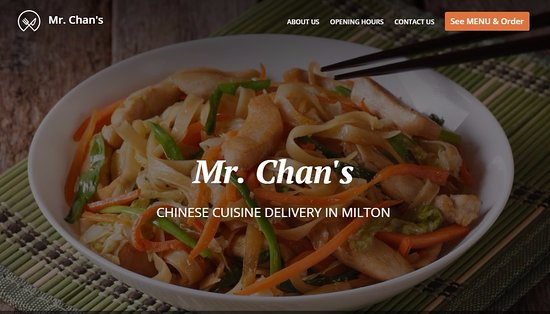 Milton, MA: Order online at mrchans.net