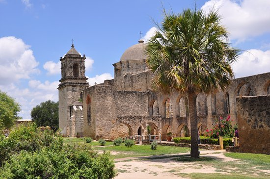 San Antonio Missions National Historical Park : Mission San Jose, absolutely beautiful and peaceful.
