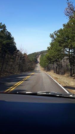 Heavener, Oklahoma: Prachtige stille route